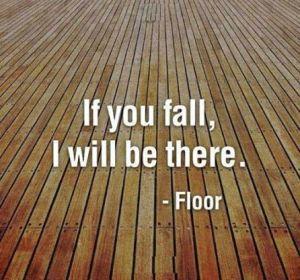 fall floor
